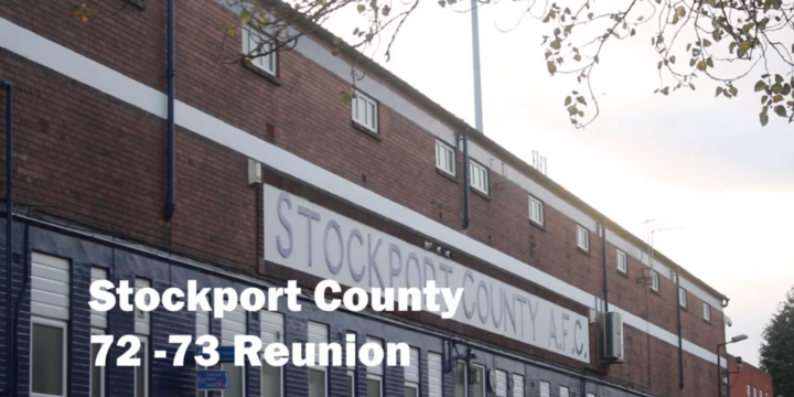 Stockport County 72-73 Reunion